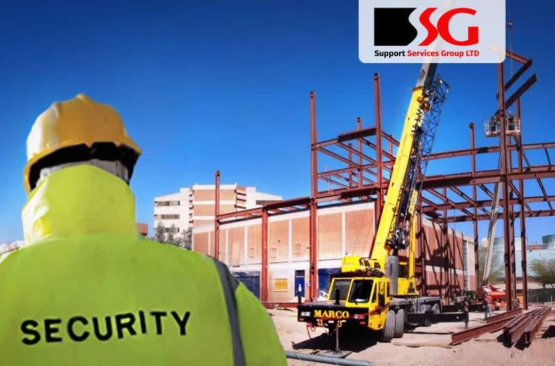 SSG construction site security guard